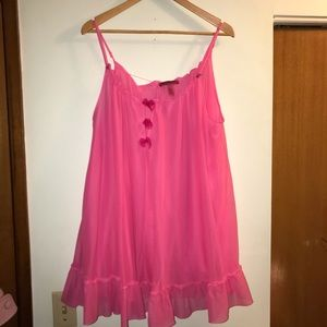 💗💗Hot Pink 💗💗 Vintage Betsy Johnson Teddy
